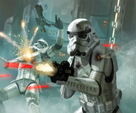 Star Wars Stormtroopers Art #3