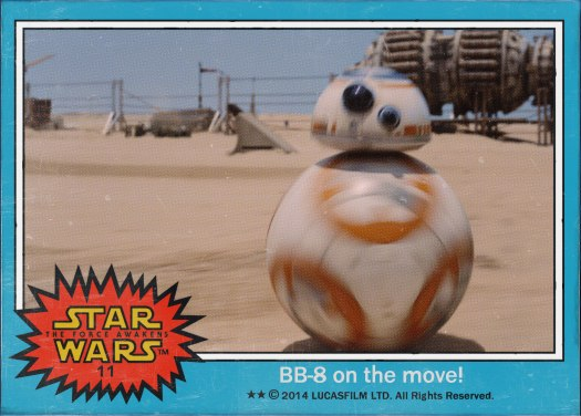 Star Wars the Force Awakens Movie Card #11