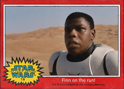 Star Wars the Force Awakens Movie Card #18