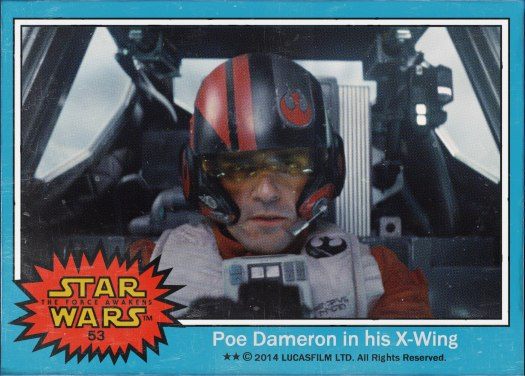 Star Wars the Force Awakens Movie Card #53
