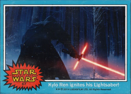 Star Wars the Force Awakens Movie Card #67