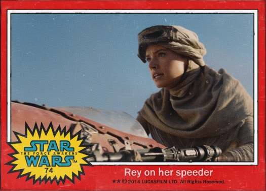 Star Wars the Force Awakens Movie Card #74