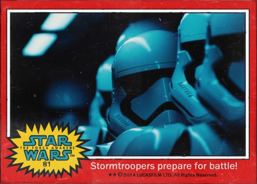 Star Wars the Force Awakens Movie Card #81