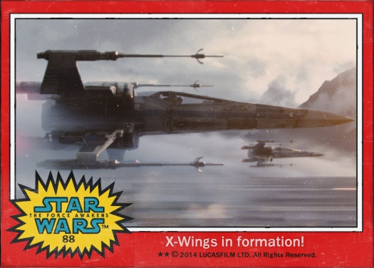 Star Wars the Force Awakens Movie Card #88