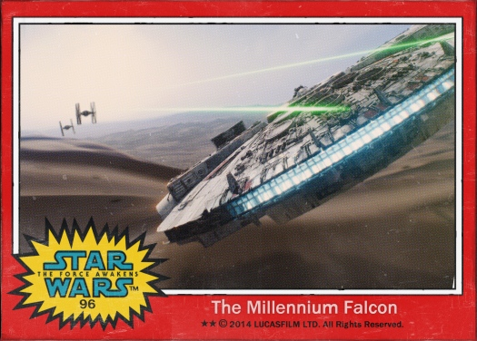 Star Wars the Force Awakens Movie Card #96
