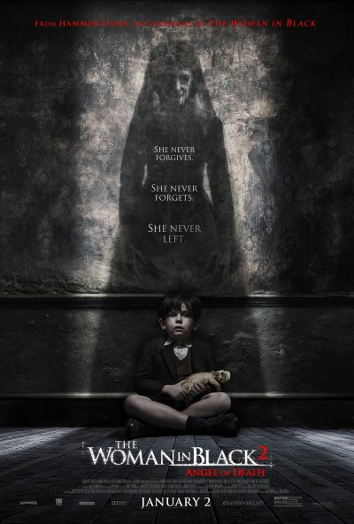 The Woman in Black Angel of Death Poster #4
