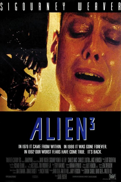 Alien 3 Movie Poster #1