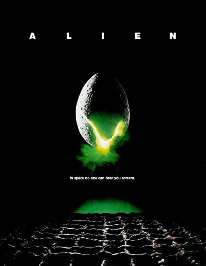 Alien Moive Poster #1