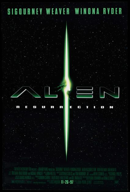 Alien Resurrection Movie Poster #1