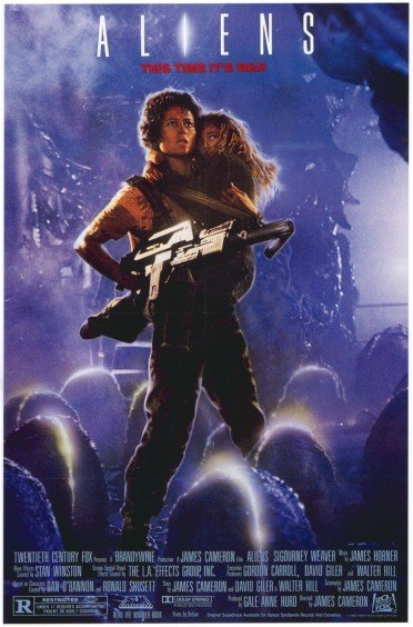 Image result for aliens 1986 tall poster