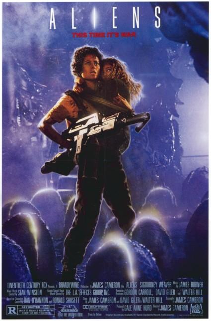 Aliens Movie Poster #1