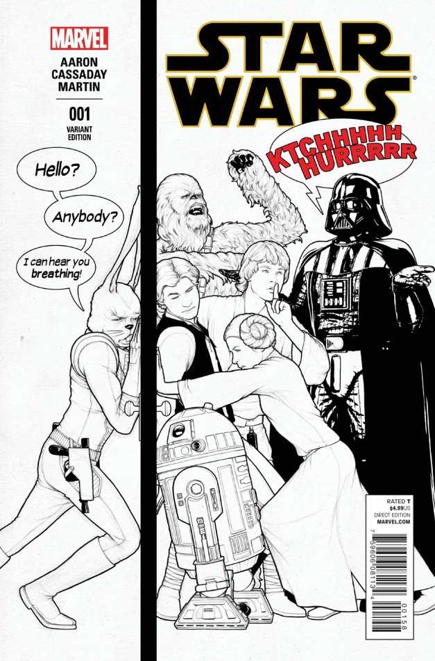 Star Wars #1 Cover 11