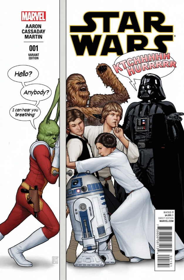 Star Wars #1 Cover 16
