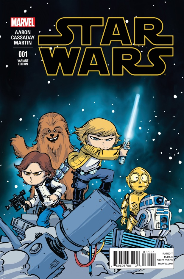 Star Wars #1 Cover 3