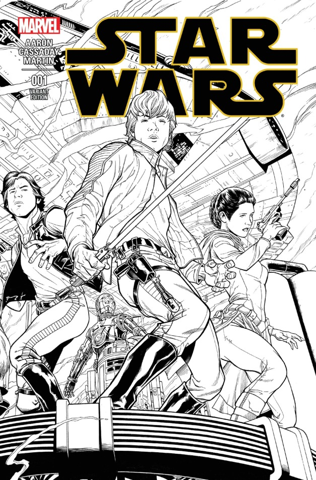 Star Wars #1 Cover 4
