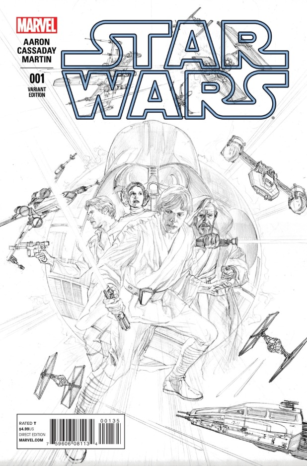 Star Wars #1 Cover 7