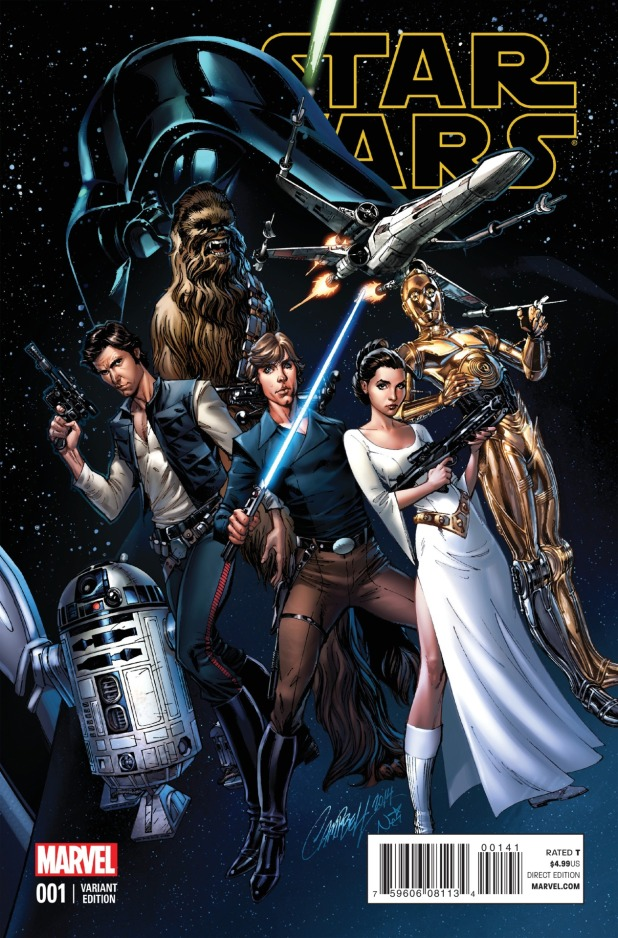 Star Wars #1 Cover 9