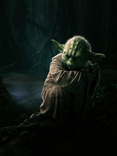 Star Wars Yoda Art #1