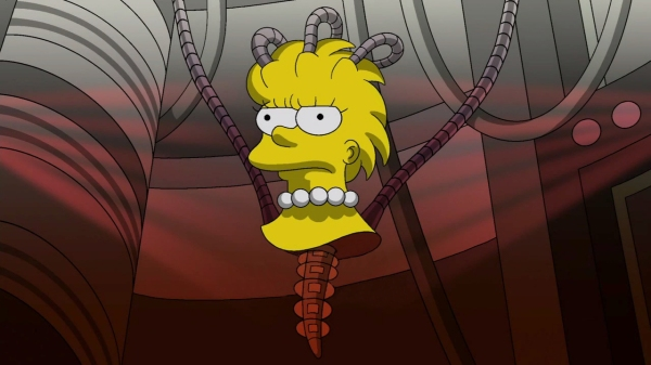 The Simpsons #4  Borg Queen