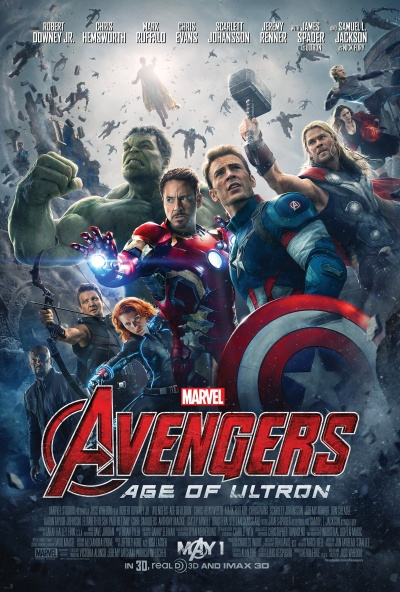Avengers Age of Ultron Poster #1