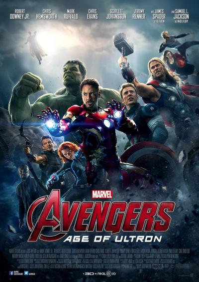 Avengers Age of Ultron Poster International Version