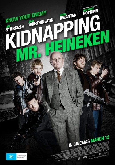 Kidnapping Mr. Heineken Poster #2