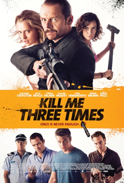 Kill Me Three Times Poster #1