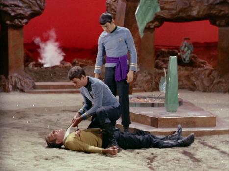 Star Trek TOS Amok Time Image 1