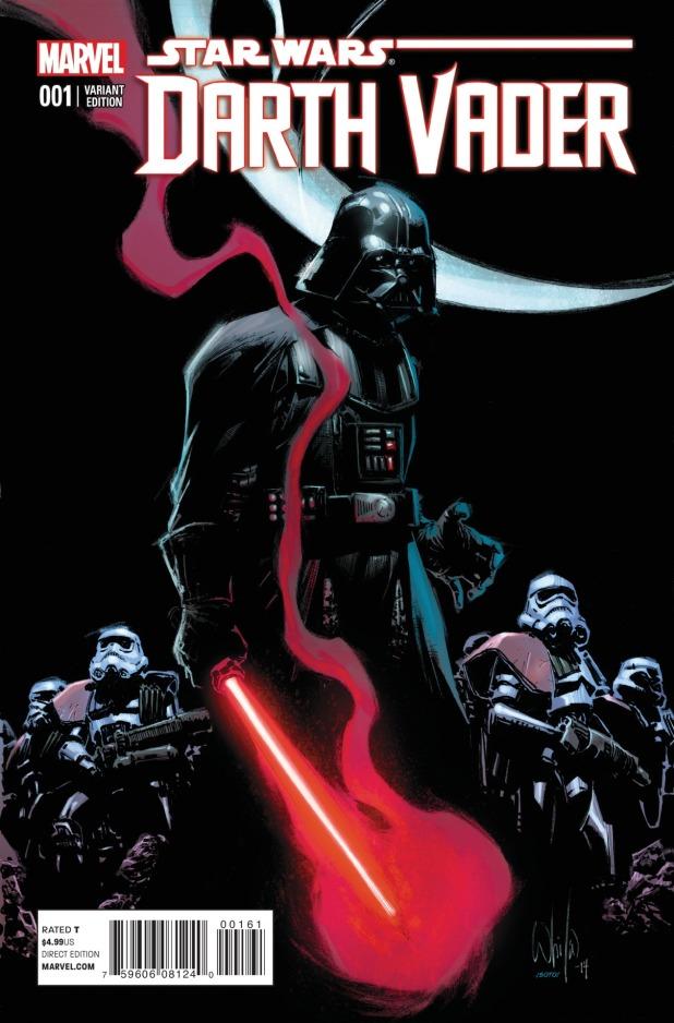 Star Wars Darth Vader #1 Cover 8