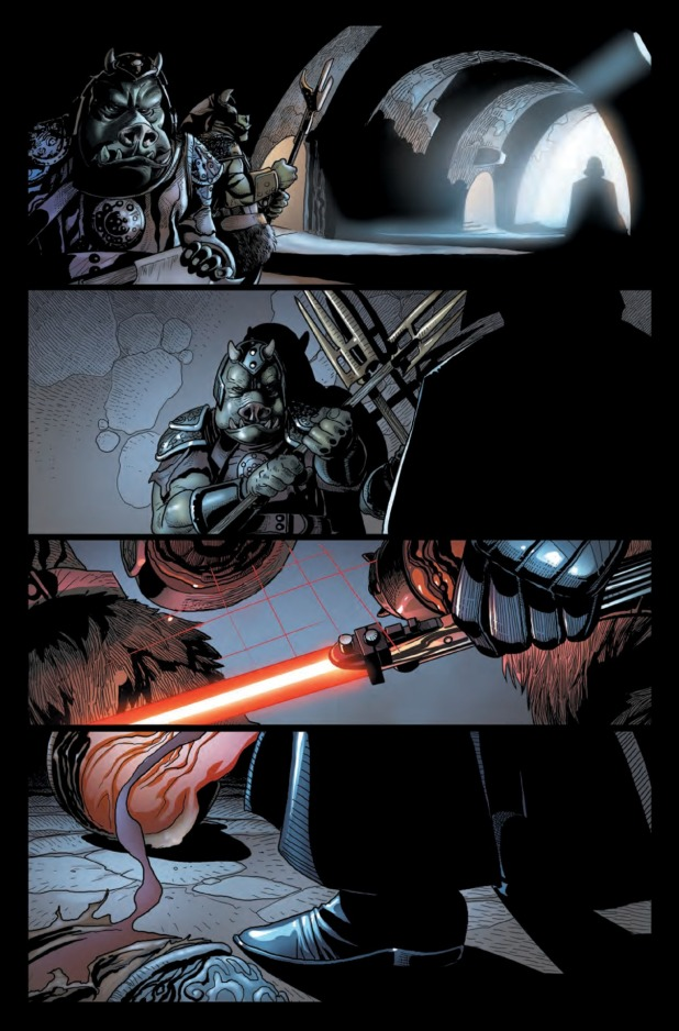 Star Wars Darth Vader #1 Page 2