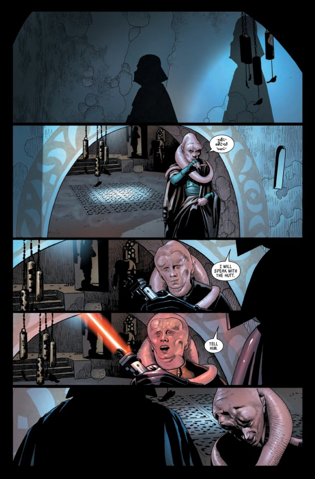 Star Wars Darth Vader #1 Page 3