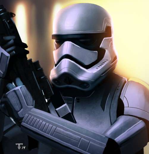 Star Wars Episode VII Stormtroopers Art #1