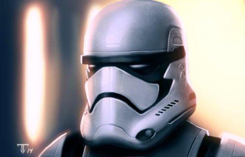 Star Wars Episode VII Stormtroopers Art #2