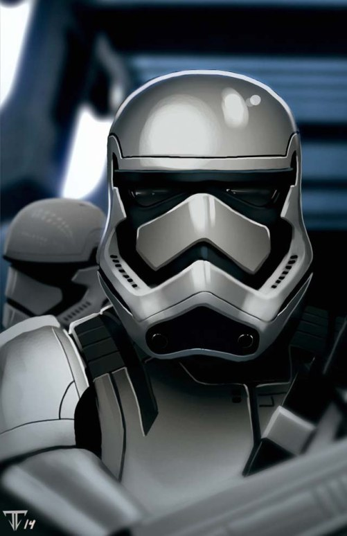 Star Wars Episode VII Stormtroopers Art #3