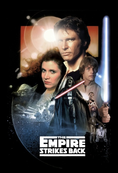 Star Wars Poster Image Empire Strikes Back