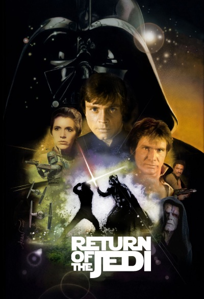 Star Wars Poster Image Return of the Jedi