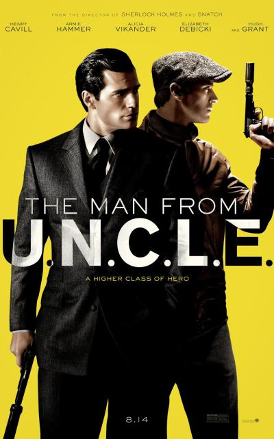 The Man from U.N.C.L.E. Poster #1
