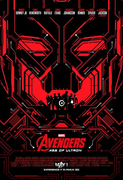 Avengers Age of Ultron Imax Poster #1