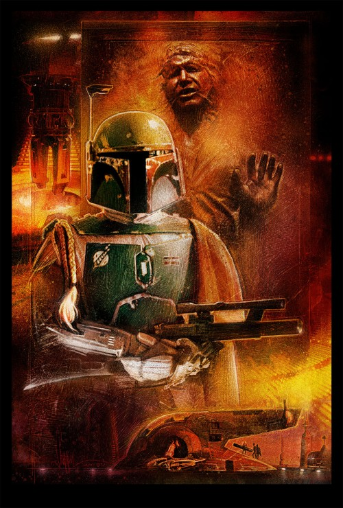 Boba Fett He's No Good To Me Dead Print - Paul Shipper