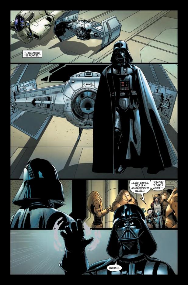 Darth Vader #3 Page 1