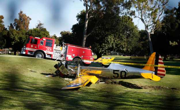 Fords Crashed Plane 2