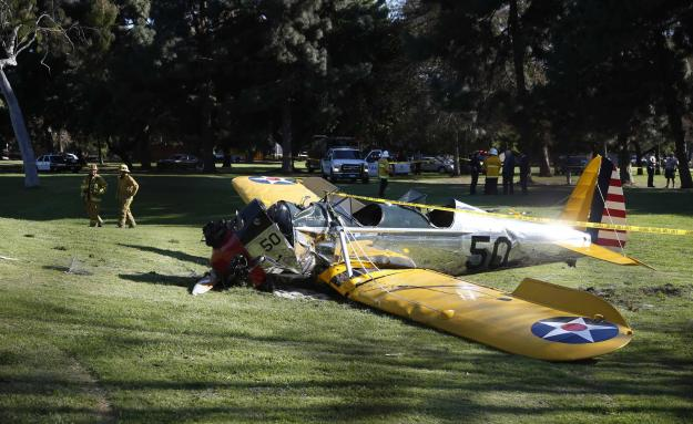 Fords Crashed Plane