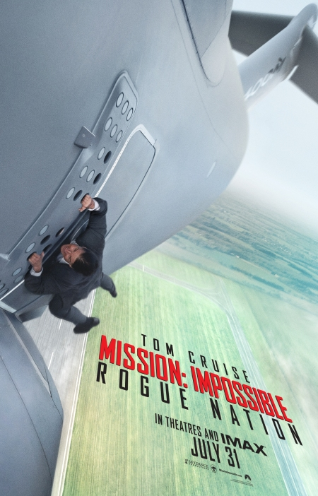 Mission Impossible Rogue Nation Poster #1