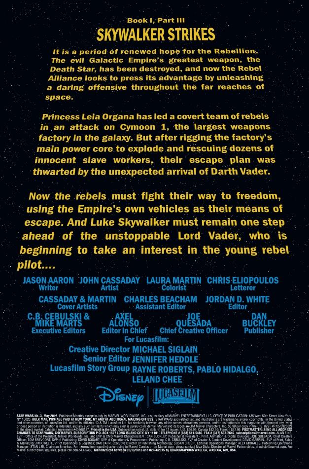 Star Wars #3 Page 1