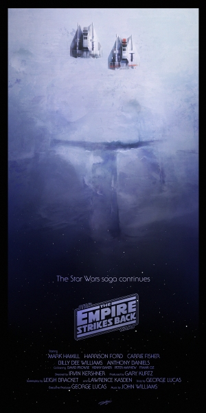 Star Wars Empire Strickes Back Poster S