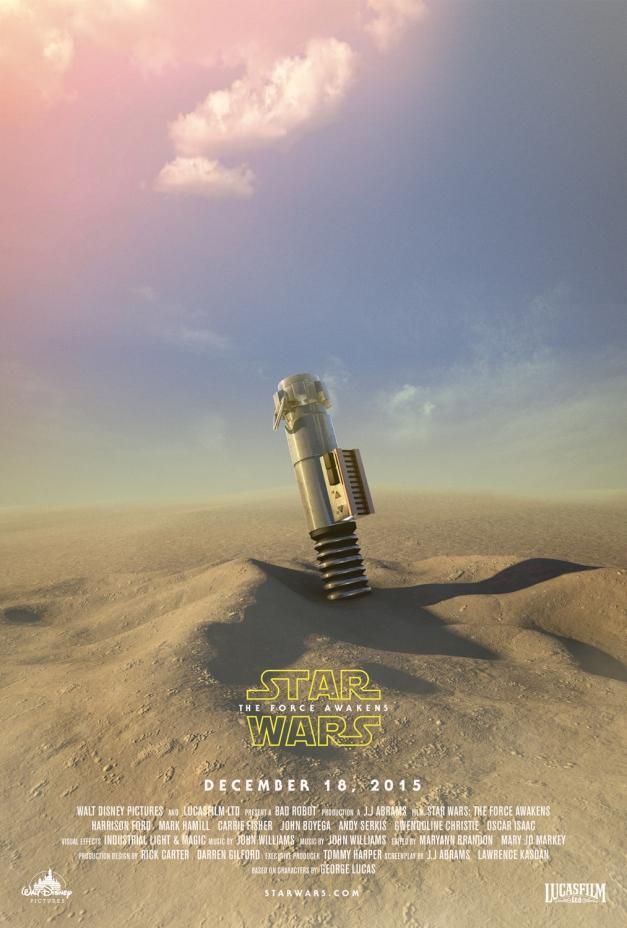 Star Wars The Force Awakens Fan Poster 10