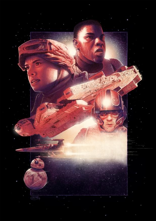 Star Wars The Force Awakens Fan Poster 11