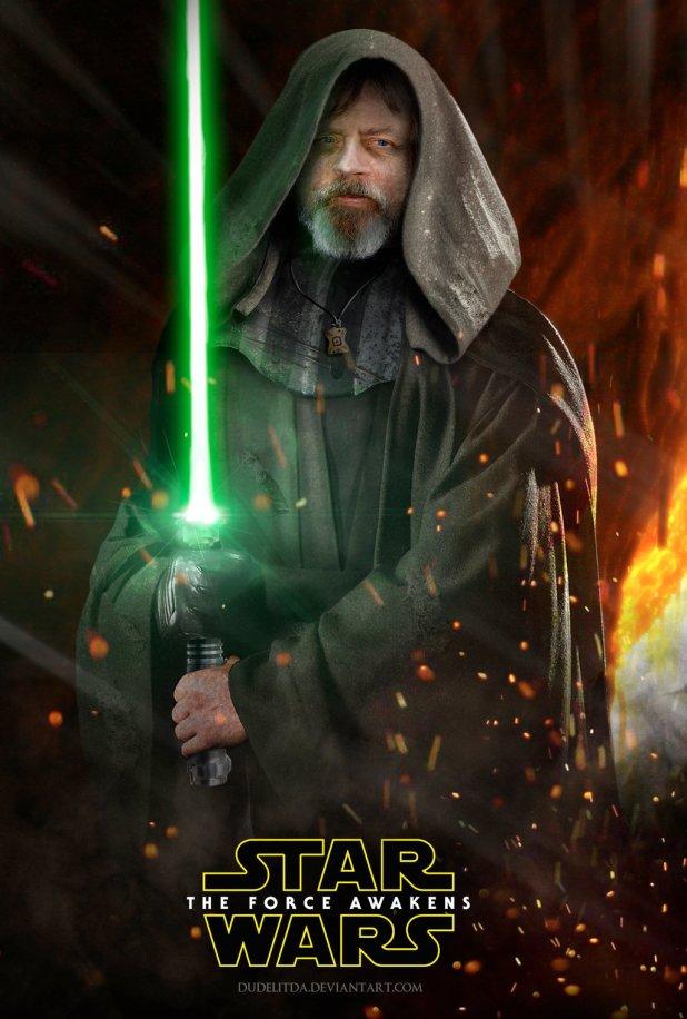 Star Wars The Force Awakens Fan Poster 12