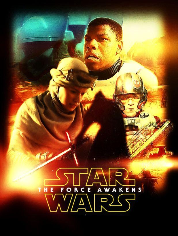 Star Wars The Force Awakens Fan Poster 13
