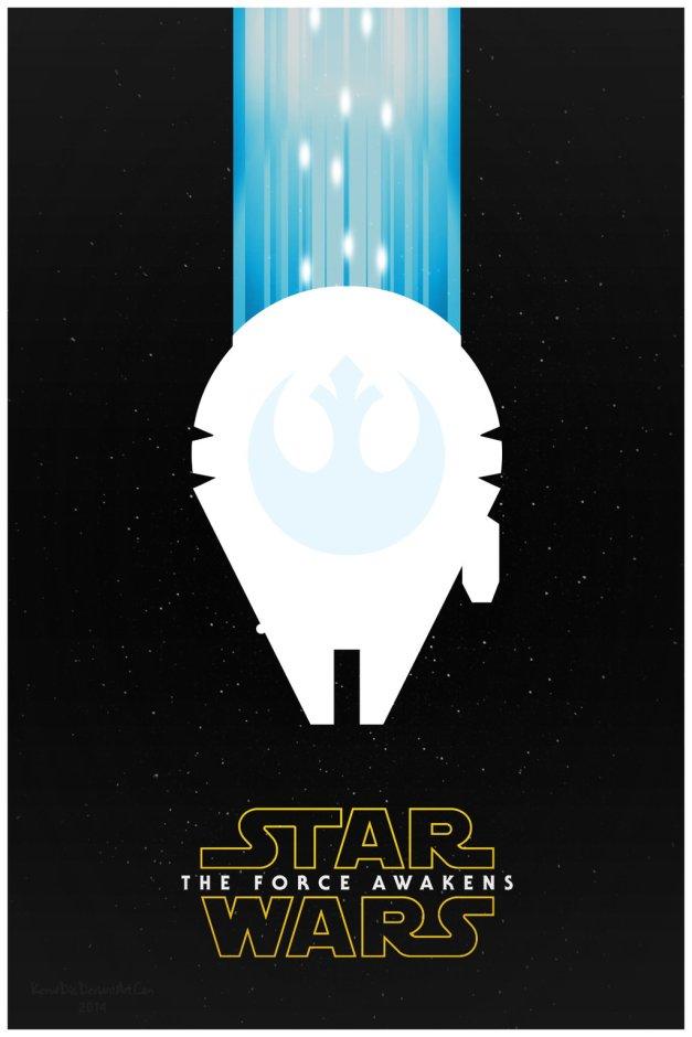 Star Wars The Force Awakens Fan Poster 3